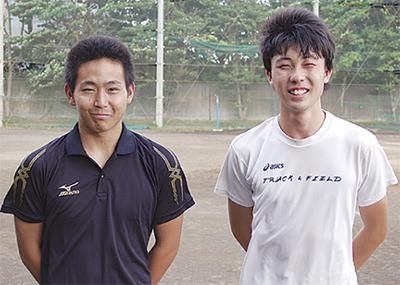 山崎、海津選手が全国へ