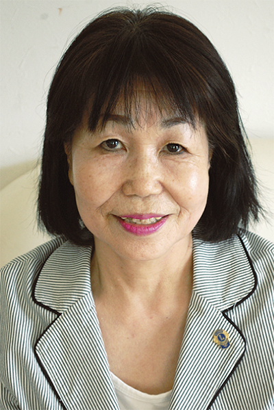 吉田初子さん