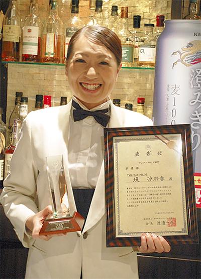 堤 沙耶香さんが準優勝