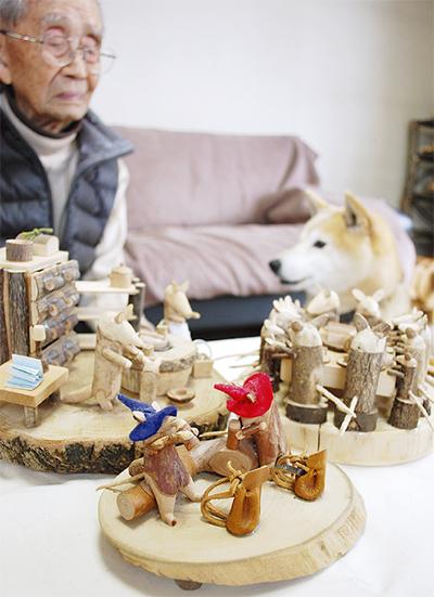 木工で絵本の世界を