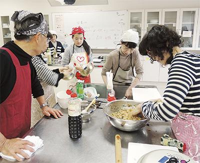 中国伝統料理を学ぶ