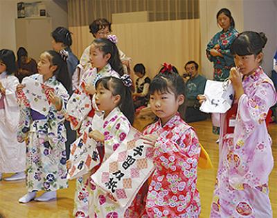 日本舞踊に挑戦