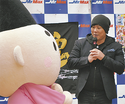 大仁田氏がトークショー