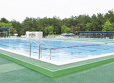 浜須賀プール一新