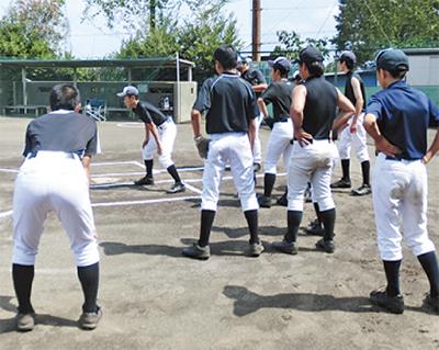 中学硬式野球の選手募集