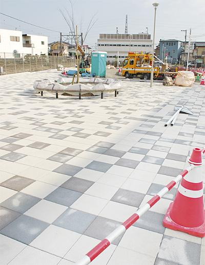 香川駅前広場が完成