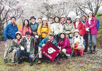 春のハイキング参加募集