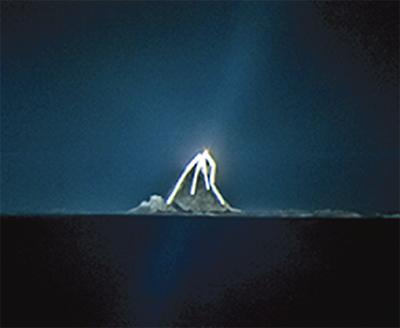 幻想的な光の祭典