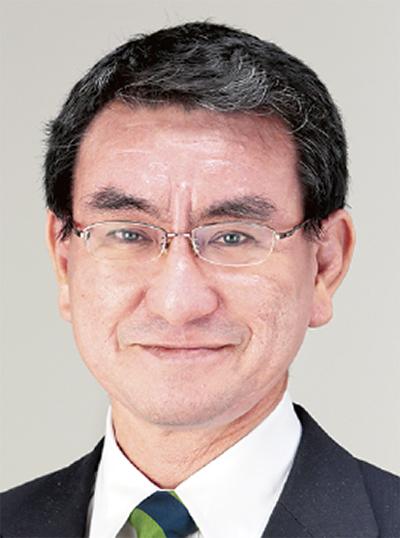河野太郎氏 初の入閣
