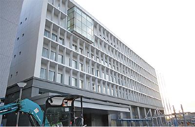 新庁舎を市民に公開