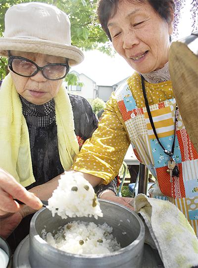 ツタンカーメンの豆を調理