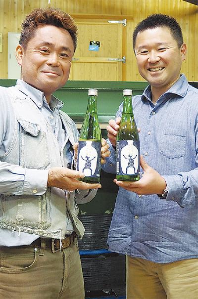 茅ヶ崎産米で日本酒