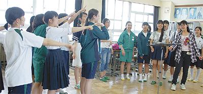 松林中生がオペラに出演