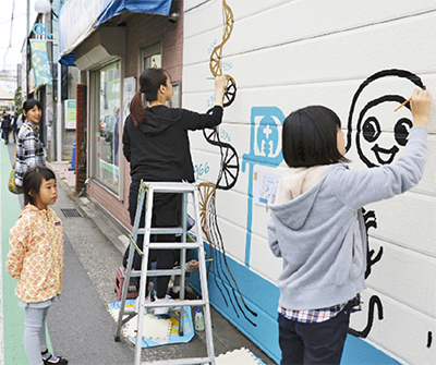 南駅前商店会が50周年