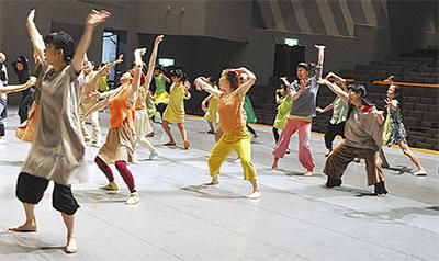 茅ヶ崎発のダンスを創作