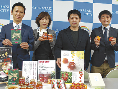 湘南ポモロンで商品開発