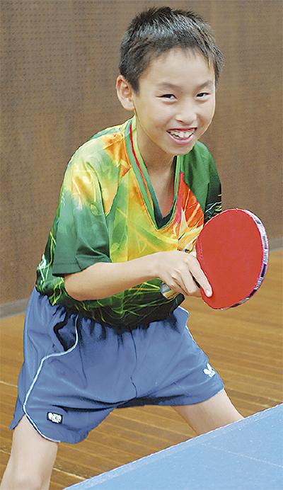 卓球で全国3大会へ