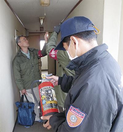 支援施設で緊急立入検査