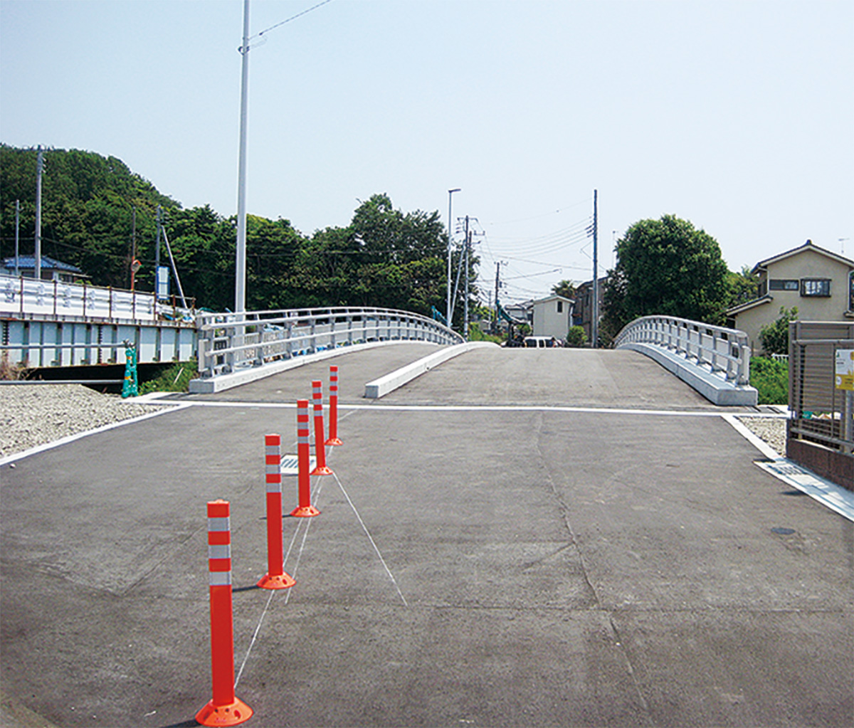 聖天橋が通行可能に