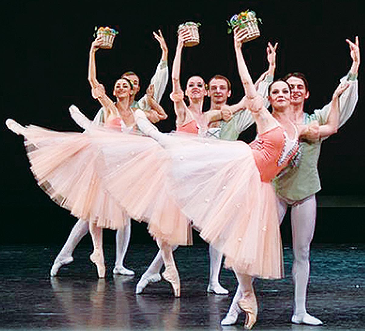 新春祝うバレエと弦楽
