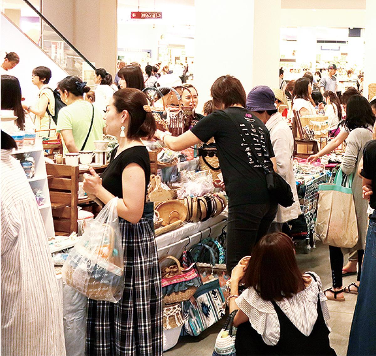 出店は過去最大の60店