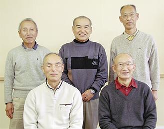 12月の定例会で集まったメンバー。「仲間と出会える場」とグループの魅力を語る