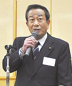 食の安全を語る隅田会長