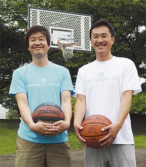 岸本さん(右)と小山内さん