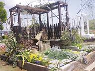寒川・後藤さんが庭園出展