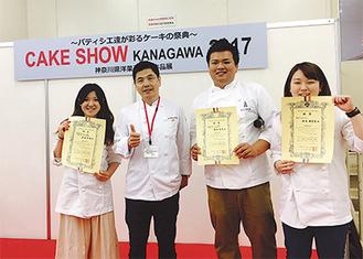 左から武田さん、大関社長、増田さん、鈴木さん