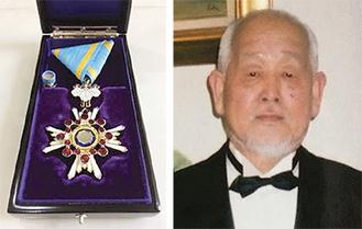 瑞宝双光章を受章した関隆さん