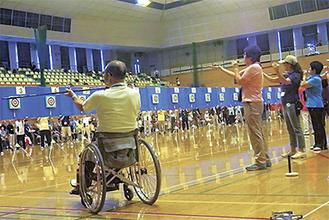 8月の県西部大会は毎年寒川で開催される