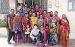 インドの女性たちと早川監督