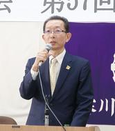 内野晴雄氏が新会長に