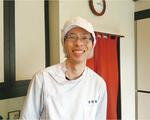 明るい性格の黒田さん。倉見で和菓子を作り続ける