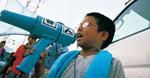 通った声で甚句を披露した町内の小学2年生・白川悠希君。「兄ちゃんが歌うのを真似してます。浜降祭にも行きます」。