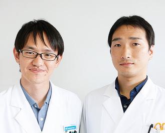 野澤薬剤師、長谷川薬剤師