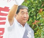 元地元自治会長の二ノ宮氏は「若い人が住みたくなる町づくり」を訴えた