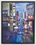 町長賞は横浜の街をリアルに描いた油彩画◀
