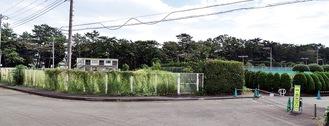 寒川神社参道隣に建設
