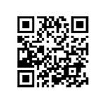 公式ページへの2次元バーコード