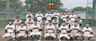 寒川高校の部員たち
