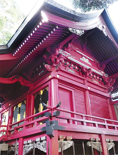 十二支が守る倉見神社