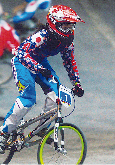 BMX世界選手権で2連覇