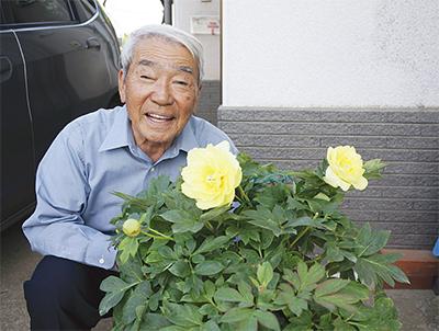 黄色い芍薬 命育てる喜び