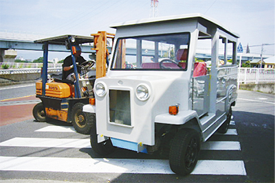 寒川から電気自動車誕生