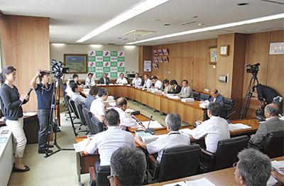 寒川町議会初のTV中継