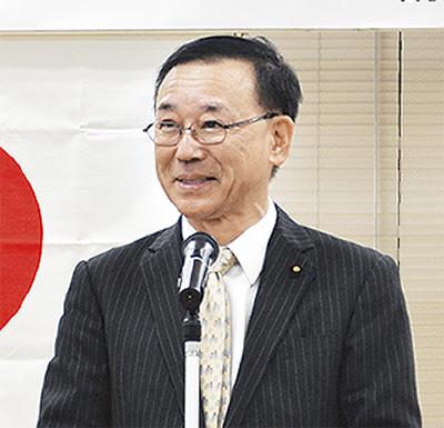 谷垣幹事長が来藤
