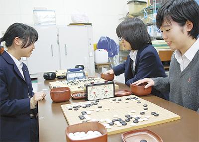 北陵高女子囲碁関東へ