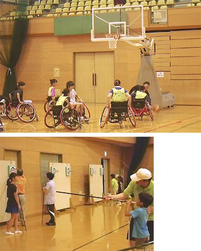 障害者スポーツを体験